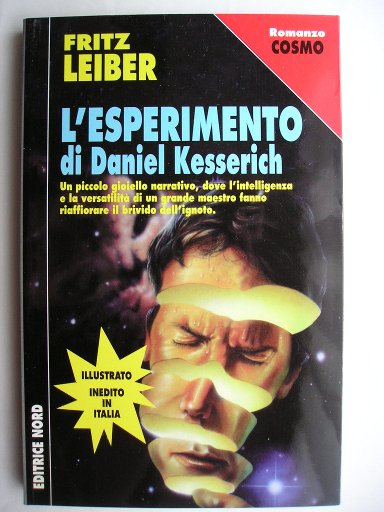 The Dealings of Daniel Kesserich by Fritz Leiber (Italian edition)
