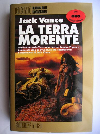 Omnibus including The Dying Earth and The Eyes of the Overlord by Jack Vance (Italian edition)