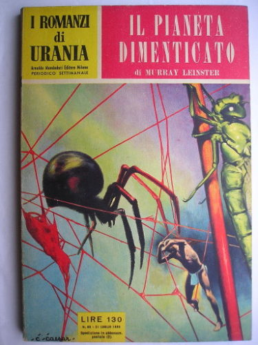 The Forgotten Planet by Murray Leinster (Italian edition)