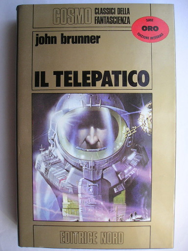 The Whole Man aka Telepathist by John Brunner (Italian edition)