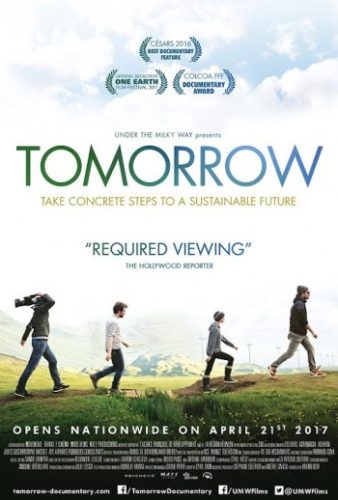 The poster for the documentary Tomorrow