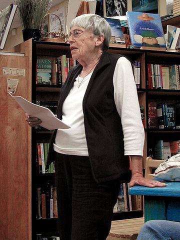 Ursula Le Guin in 2008