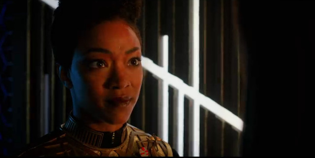 Michael Burnham (Sonequa Martin-Green) in Vaulting Ambition (Image courtesy CBS / Netflix)