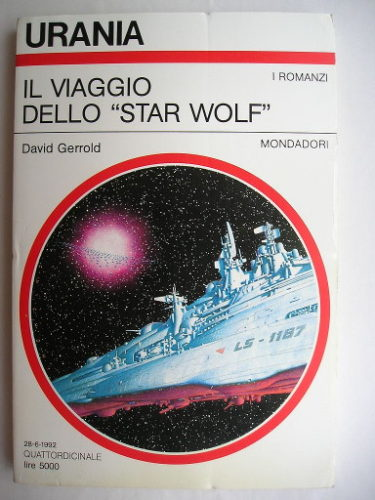 Voyage of the Star Wolf by David Gerrold (Italian edition)