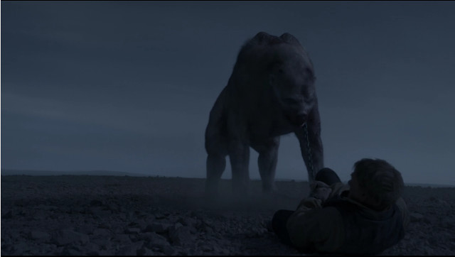 The Tuunbaq creature in We Are Gone (Image courtesy AMC Studios / Amazon. All rights reserved)