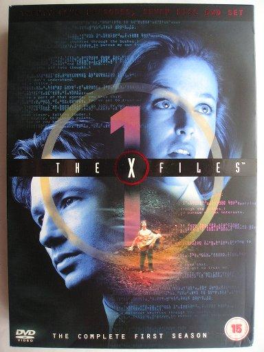 The DVD box set of The X-Files season 1