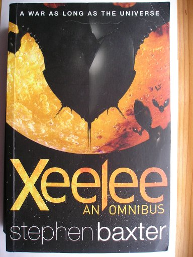 Xeelee Sequence omnibus by Stephen Baxter containing the novels: Raft, Timelike Infinity, Flux and Ring