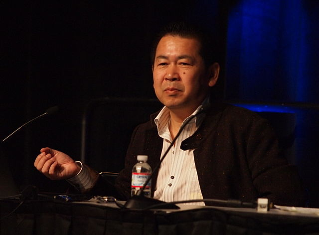 Yu Suzuki at the Game Developers Conference in 2011