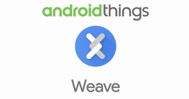 Android Things and Weave logos (Image courtesy Google)