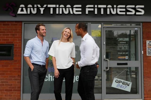 Anytime Fitness is one of the many gym franchise opportunities (Photo courtesy Anytime Fitness. All rights reserved)