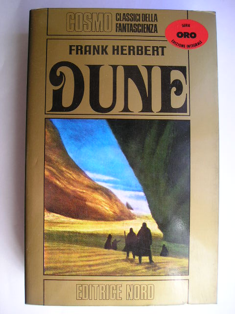Dune by Frank Herbert (Italian edition)