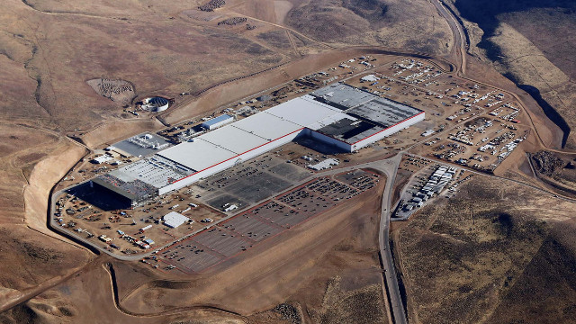 The Gigafactory (Photo courtesy Tesla Motors. All rights reserved)