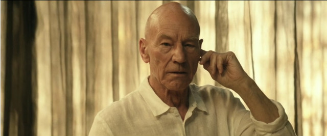 Jean-Luc Picard (Patrick Stewart) in Absolute Candor (Image courtesy CBS All Access / Amazon Prime Video)