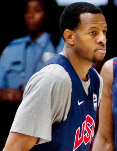 Andre Iguodala with Team USA in 2012 (Photo Tim Shelby)