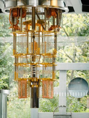 IBM 50-qubit system (Photo courtesy IBM)