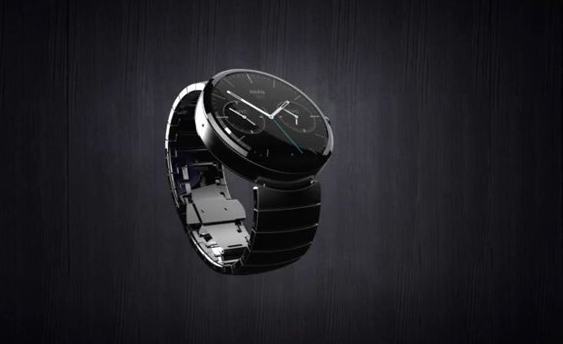 The Motorola Moto 360 smartwatch (Photo courtesy Motorola Mobility. All rights reserved)