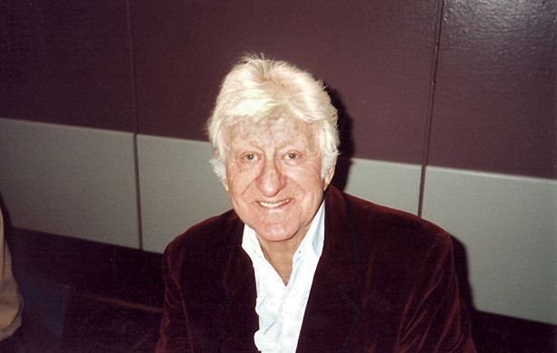 Jon Pertwee in 1996