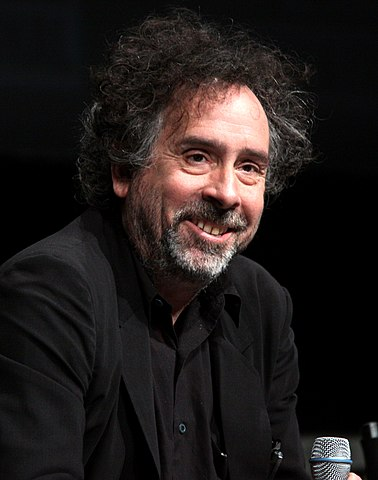 Tim Burton in 2012