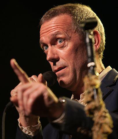 Hugh Laurie in 2012