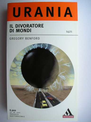Eater by Gregory Benford (Italian edition)