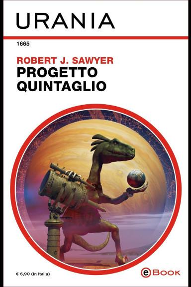 Fossil Hunter by Robert J. Sawyer (Italian edition)