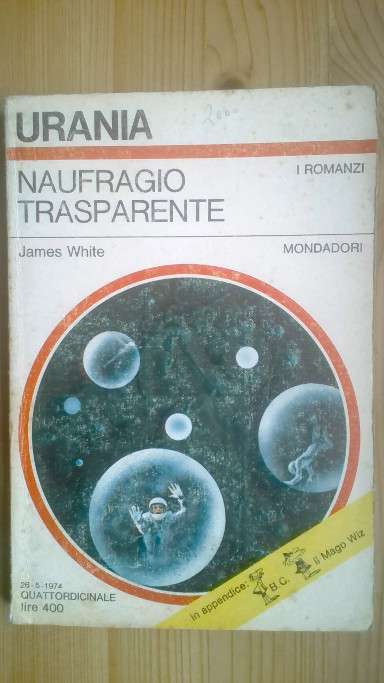 Lifeboat by James White (Italian edition)