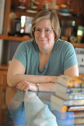 Lois McMaster Bujold in 2009