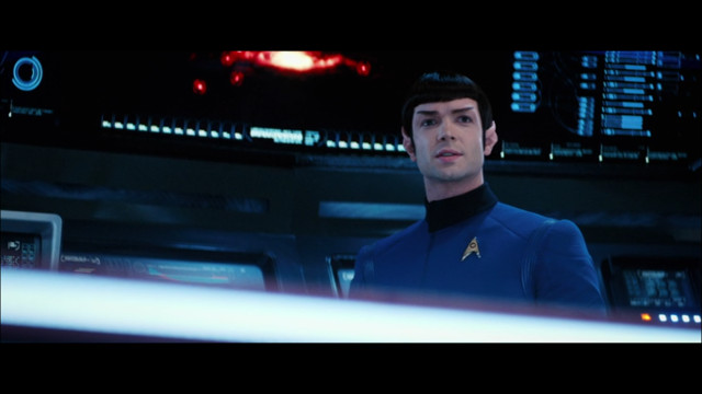 Spock (Ethan Peck) in Such Sweet Sorrow Part 2 (Image courtesy CBS / Netflix. All rights reserved)