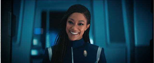 Michael Burnham (Sonequa Martin-Green) in That Hope Is You, Part 2 (Image courtesy CBS / Netflix. All rights reserved)