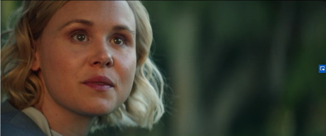 Agnes Jurati (Alison Pill) in The End is the Beginning (Image courtesy CBS All Access / Amazon Prime Video)
