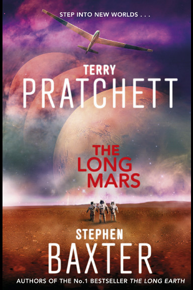 The Long Mars by Terry Pratchett and Stephen Baxter