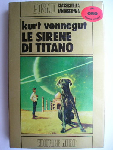 The Sirens of Titan by Kurt Vonnegut (Italian edition)