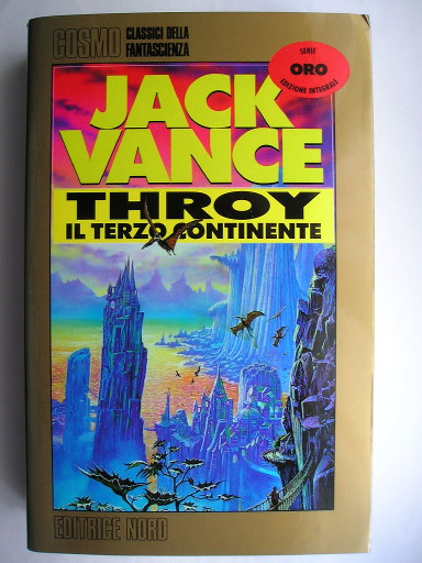 Throy by Jack Vance (Italian edition)