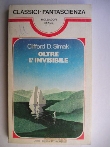 Time and Again by Clifford D. Simak (Italian edition)