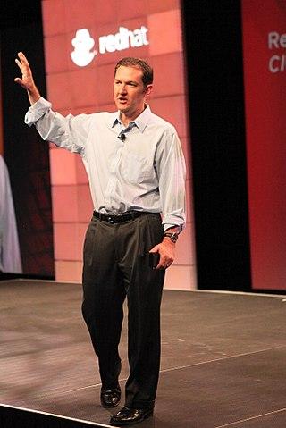 Jim Whitehurst in 2010